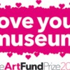 Art Fund love your museum logo