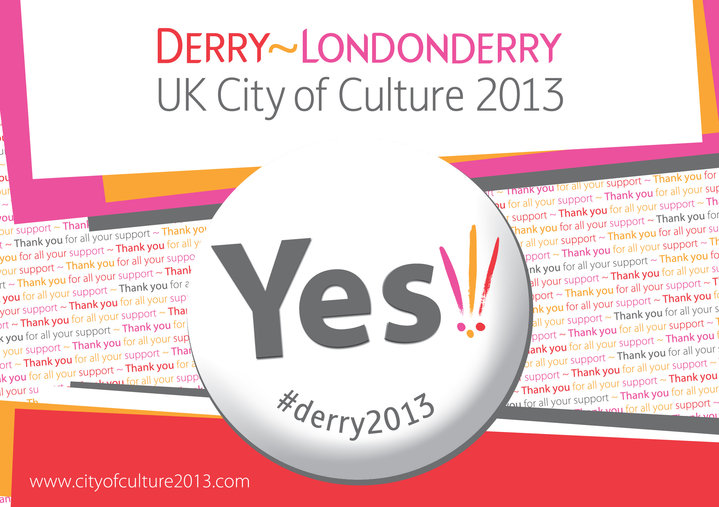Derry~Londonderry City of Culture 2013 logo