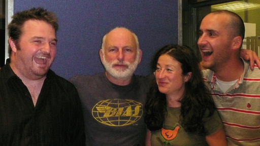 Radio Scotland drama by David Ireland, also pictured actors Gary Lewis, Veronica Leer and Robert Jack