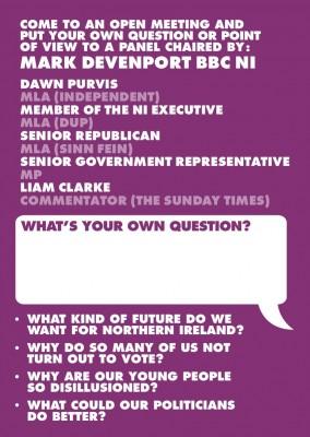 East Belfast Speaks Out leaflet