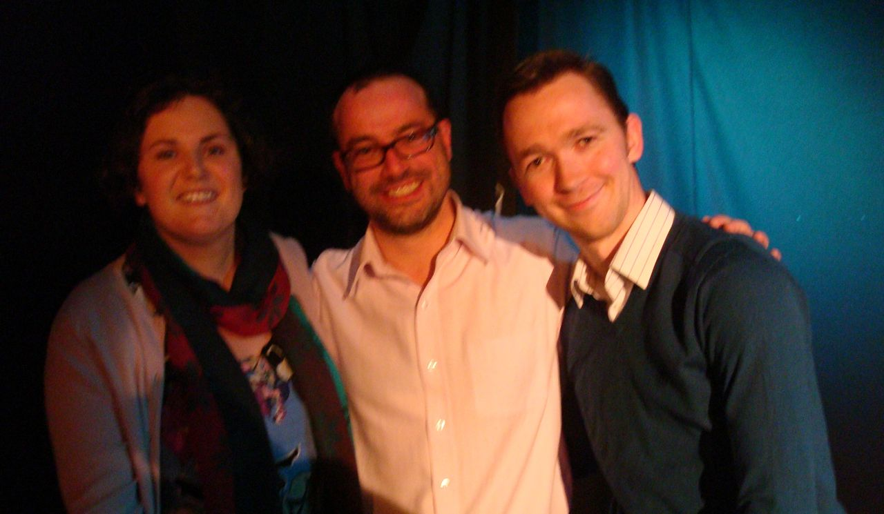Stoops to Conquer (South Belfast SDLP team) who won The Great Big Politics Quiz for Haiti