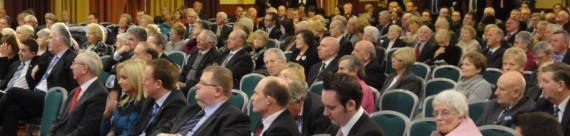 Sea of heads from the front - UUP Conference