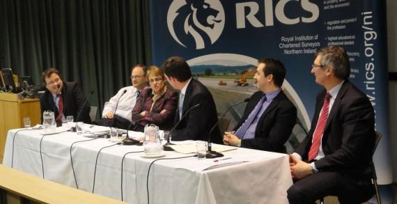 Panel at RICS economic hustings