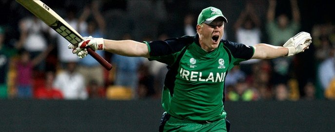 Kevin O'Brien - Getty images screenshot from BBC Sport