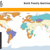 Click image for an interactive map showing how the world has moved to abolish the death penalty, 1961-2011