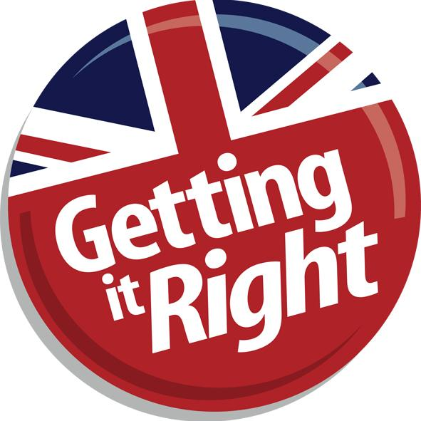 DUP Getting it Right logo