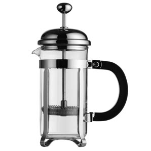 la cafetiere chrome coffee maker 3 cup slugger o 39 toole. Black Bedroom Furniture Sets. Home Design Ideas