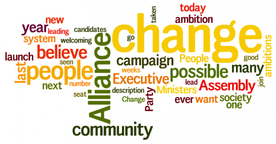 David Ford 2011 campaign launch speech wordle