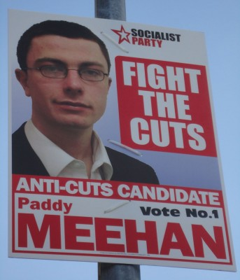 Paddy Meehan Socialist Party poster
