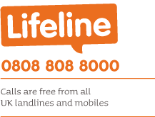 Lifeline telephone number details
