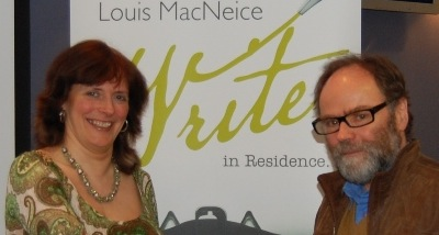 Head shot of Suzanne Breen and Malachi O'Doherty