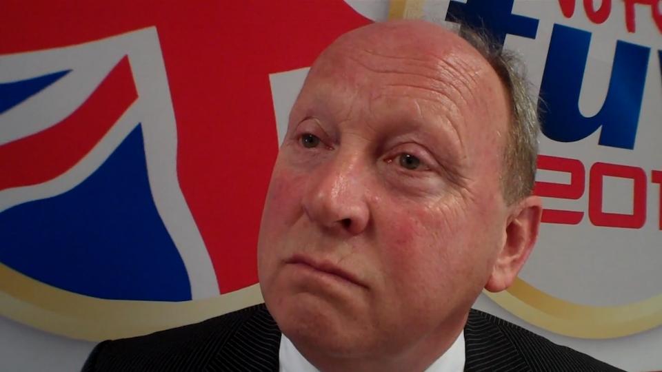 Jim Allister interview screen grab