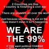 Occupy Belfast Fist poster