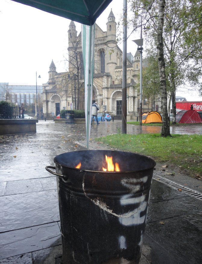 Occupy Belfast Writers Square