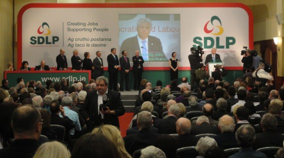 Alasdair McDonnell is new SDLP leader