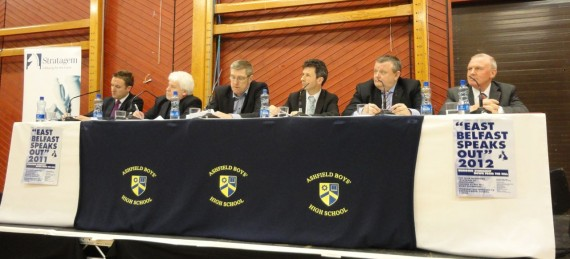 2012 East Belfast Speaks Out panel