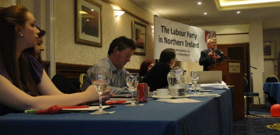Labour NI AGM top table