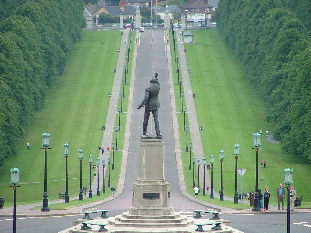 Northern Ireland Parliament Buildings - Edward Carson statue
