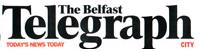 2006 Belfast Telegraph masthead saying Today's News Today