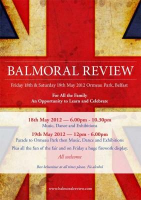 Balmoral Review poster