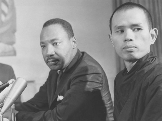 Hnat Hanh called on Luther King to oppose the war