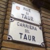 Occitan / French street plaque in Toulouse
