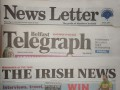 local paper mastheads Belfast Telegraph Irish News News Letter