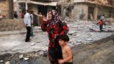 Aleppo mother