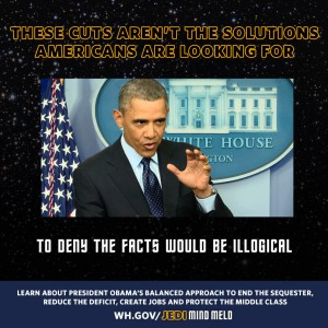 "White House ""Jedi mind-meld"""