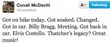 Conall McDevitt tweet David Vance reply