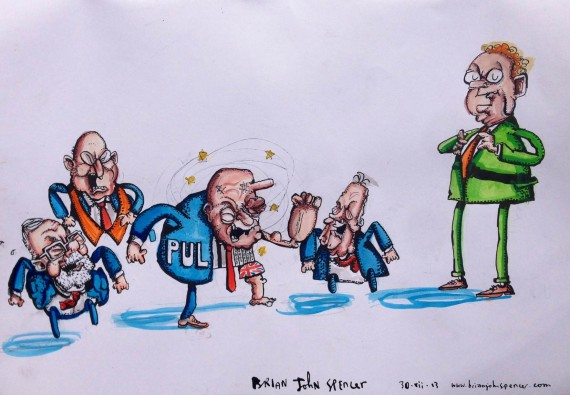 PUL community and Sinn Fein - Brian John Spencer
