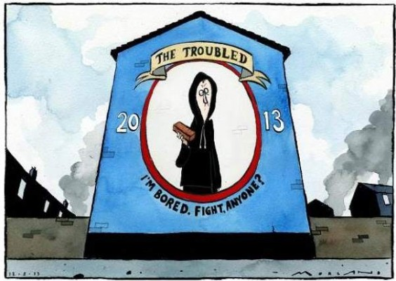 Morten Morland on Northern Ireland, Brian John Spencer