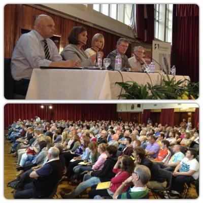 West Belfast Talks Back panel audience