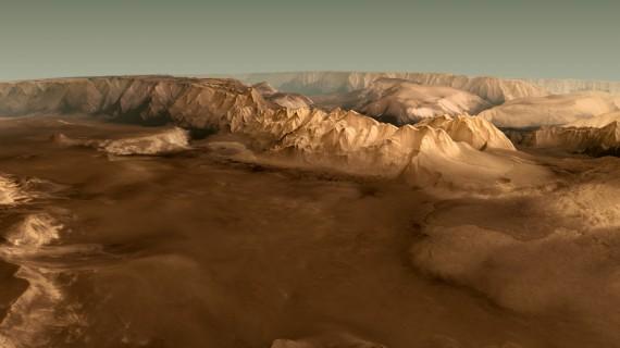 HRSC on Mars Express - Valles Marineris