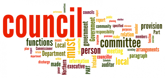Local Government Bill tagcloud