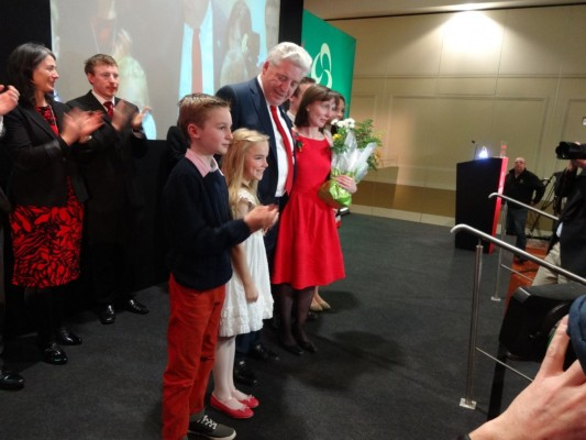 McDonnell family after speech