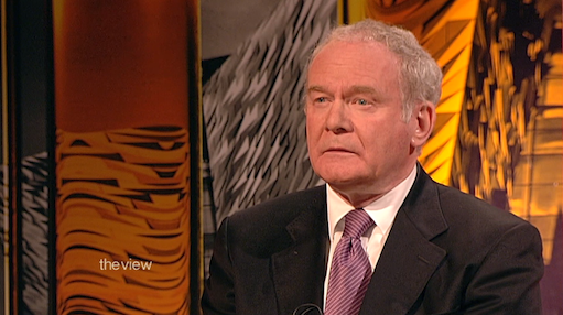 BBC The View Martin McGuinness