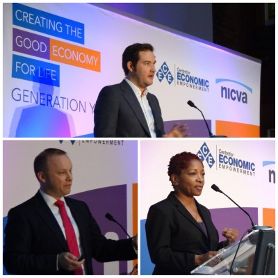 triptych of Gen Y NICVA CEE conference