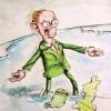 Martin McGuinness polticial cartoon, Brian John Spencer