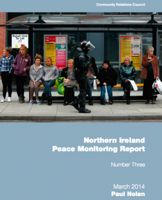 NI Peace Monitoring Report 2014 cover