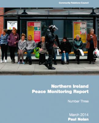 NI Peace Monitoring Report 2014 cover