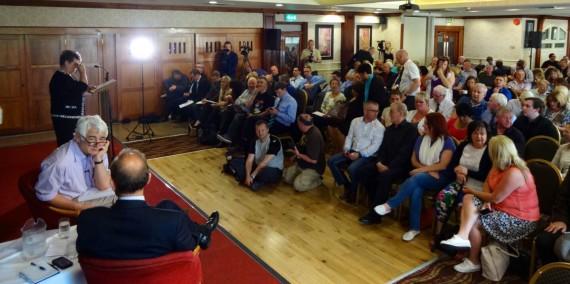 Hugh Orde John Ware audience