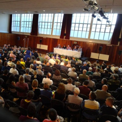 West Belfast Talks Back audience
