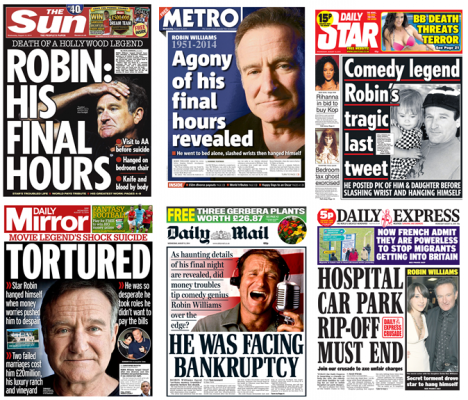 Front pages, August 13th 2014