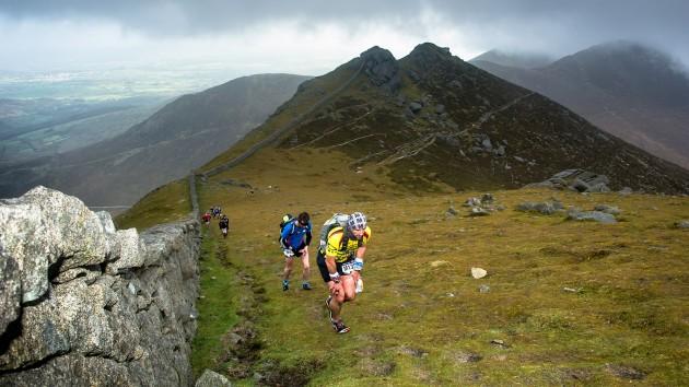 Mourne Skyline Mountain-Trail Race 2014
