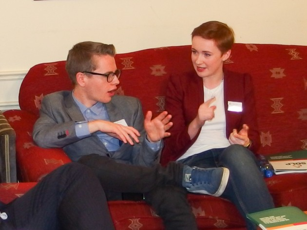 Young people share their demands for a better future at SDLP conference coffee chat