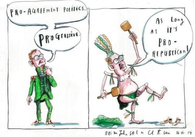 Martin McGuinness cartoon