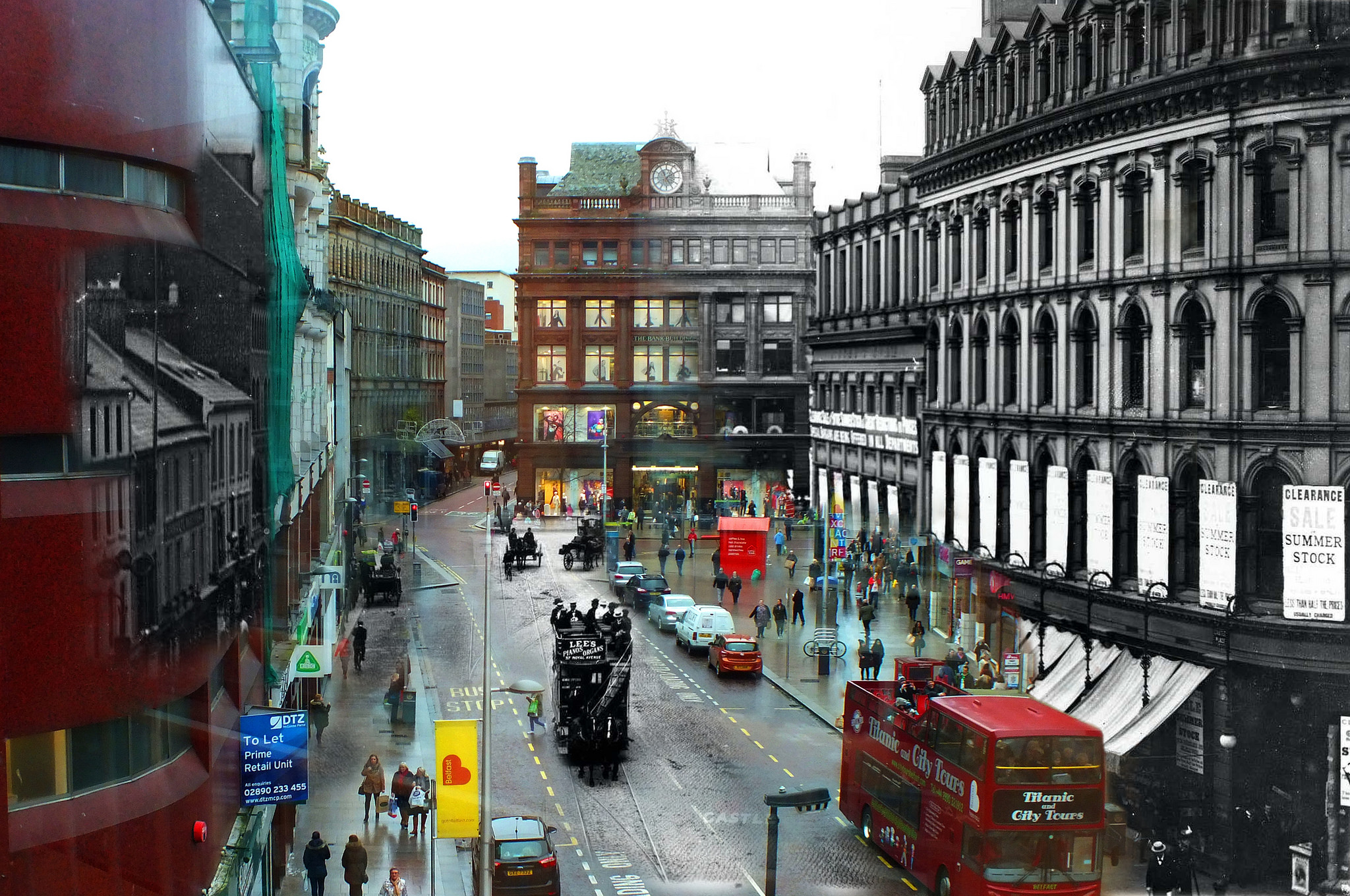 Merged photos of Belfast old and new… | Slugger O'Toole