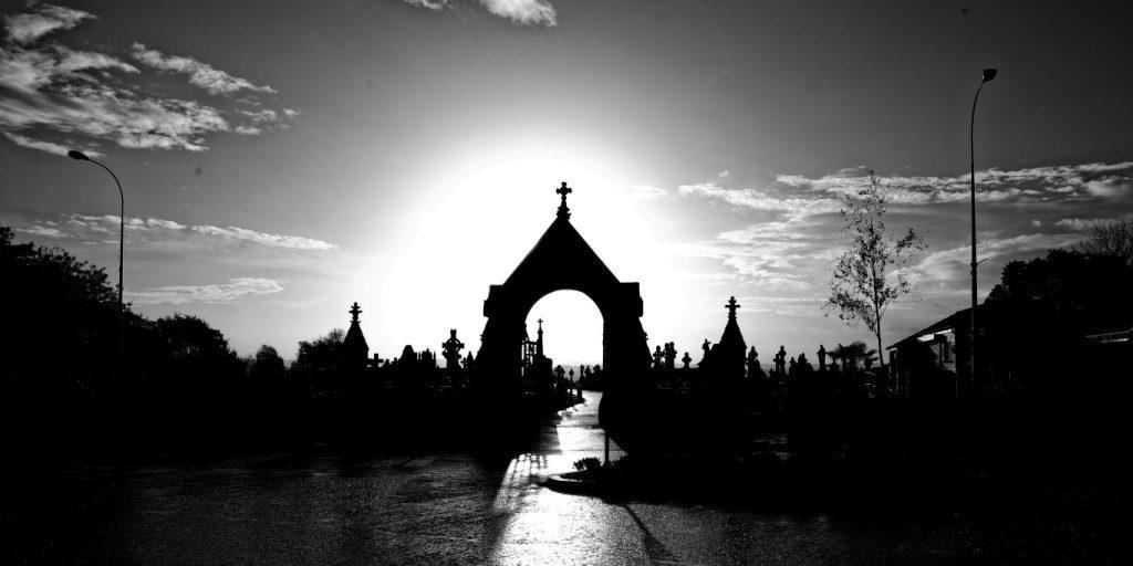Milltown Cemetery at dawn