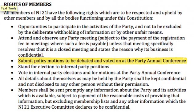 rights of members